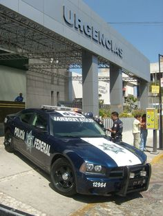 Dodge Charger Pursuit - Mexican Police.
