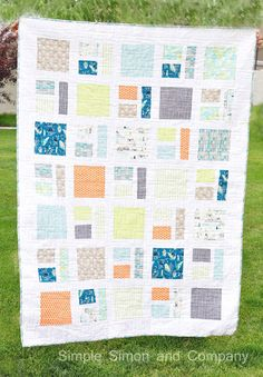 Indian Summer Quilt Along--Finishing your Quilt Top | Simple Simon and Company