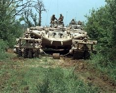 M60-Panther mine clearing vehicle