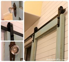 Batchelors Way: Planked Wall and Barn door!