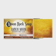 Moon Rock, Honey And Cinnamon, Amber, Soaps, How To Make, Handmade, Products, Hand Soaps, Hand Made