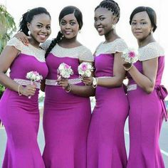 Formal Bridesmaids Dresses, Yellow Bridesmaids, Mermaid Bridesmaid Dresses, Wedding Bridesmaids, Couples African Outfits, African Fashion Dresses, African Dress, Bridal Gowns, Wedding Gowns