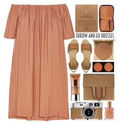 Throw-and-Go Dress / 151 by dddawn on Polyvore featuring ADAM, See by Chloé, Maison Margiela, Dogeared, Acne Studios, Stila, Estée Lauder, Clinique and Hermès