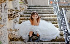Megan's Quinces Session at Vizcaya | Miami Quinces Photographer