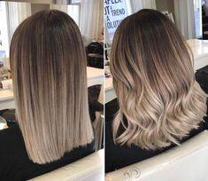 Back to blonde Hair Styles 2019 Balayage Hair Blonde blonde Hair Styles Ombre Hair Color, Hair Color Balayage, Hair Highlights, Balayage Ombre, Ash Brown Balayage, Dyed Hair Ombre, Ombré Hair, Blonde Hair, Ash Blonde