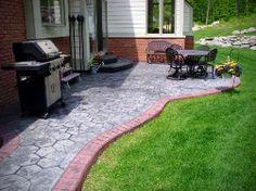 Beton decorativ sau beton amprentat, este un pavaj foarte modern, luxuriant si deosebit de luxos.