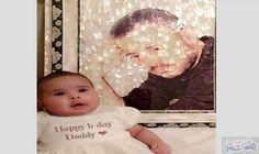 """مُحبو جورج وسوف يتداولون الصورة الأولى لابنته…: تبادل معجبو النجم جورج وسوف صورة حديثة لمولودته الجديدة """"عيون"""" وظهرت في الصورة تحملها…"""
