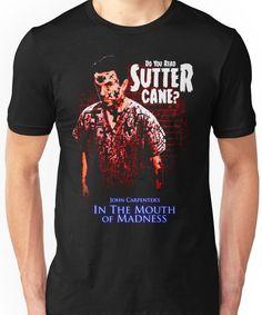 Sutter Cane John Carpenter Horror Movie T-Shirt Unisex T-Shirt
