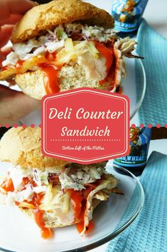 Deli Counter Turkey Sandwich | Bottom Left of the Mitten #sandwich #turkeysandwich