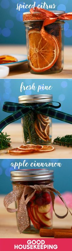 """Christmas in a jar"" will make your whole home smell like the holidays — and it makes a great last-minute gift!"