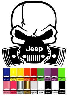 Jeep Decal | WRANGLER Hood Fender Window Door Decal rubicon sahara JK CJ TJ YJ in eBay Motors, Parts & Accessories, Car & Truck Parts | eBay