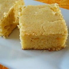 Homesteader Cornbread - Allrecipes.com A more savory corn bread, not sweet. Good with something spicy.