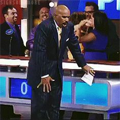 """The 22 Best Reactions From Steve Harvey On """"Family Feud"""""""