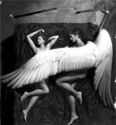 """She said """"I am afraid of falling"""" and he whispered """"I have wings"""""""