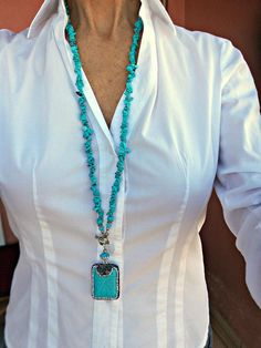 Collar Hippie, Necklace Length Chart, Jewelry Booth, Outfits For Mexico, Beaded Jewelry, Beaded Necklace, Jewellery, Necklace For Girlfriend, Turquoise Jewelry