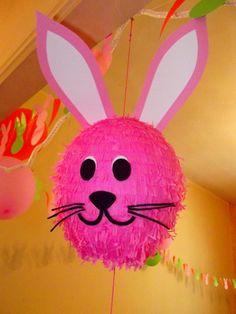 Piñata Bunny Birthday Party