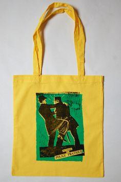 Stofftasche Police Pratique Siebdruck  von garageprint auf DaWanda.com
