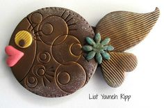 Polymer Clay Fish Magnets