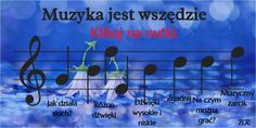 Discover more about MUZYKA JEST WSZĘDZIE ✌️ - List Falling In Love, Communication, Infographic, Bring It On, Author, The Incredibles, Education, Children, Music