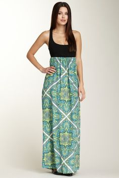 Alice & Trixie Long Brooke Maxi Dress With a shirt underneath and it would adorable