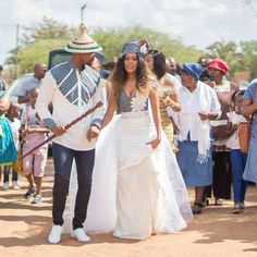 Newest Tswana Traditional Dresses for Bridesmaids - isishweshwe<br> African Traditional Wedding Dress, Traditional Wedding Attire, Traditional Outfits, Traditional Weddings, Royal Blue Bridesmaid Dresses, Bridesmaids, African Wedding Attire, African Dress, African Outfits