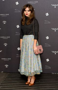 Jenna Coleman // being a little bit perfect