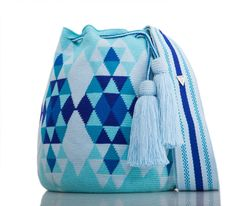"""New Cheap Bags. The location where building and construction meets style, beaded crochet is the act of using beads to decorate crocheted products. """"Crochet"""" is derived fro Bead Crochet, Crochet Motif, Surfergirl Style, Crotchet Bags, Mochila Crochet, Crochet Bag Tutorials, Tapestry Crochet Patterns, Tapestry Bag, Boho Bags"""