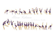 inspired by Alina Kabaeva ball 2001