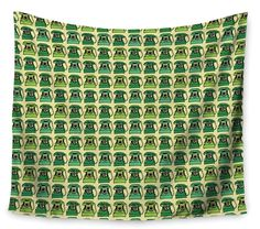 Vintage Telephone by Holly Helgeson Wall Tapestry