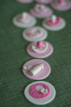 baby cupcake toppers