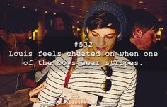 Haha whenever I see stripes...or toms...or suspenders...or carrots...or pigeons,, think of lou!