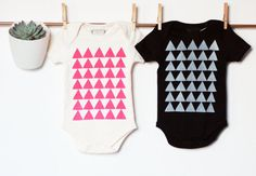 For only the coolest babies around. TO NOTE As bodysuit is printed by hand, please allow for very slight variations.  PRODUCT DETAILS 100% Organic