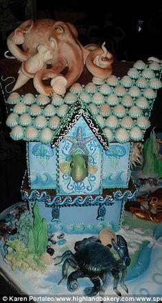 Brilliantly artistic cake