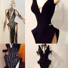 Classified Ads: Costumes: Beautiful classy black VESA dress