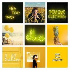 #aesthetic #colour #light #quotes #ananas #yellow #love #sea