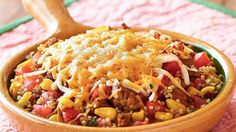 Give taco night a wholesome twist with this simple skillet dish.