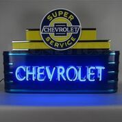 Marquee Chevrolet Neon Sign