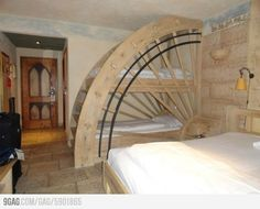 Prachtig stapelbed  Awesome Bunk Beds