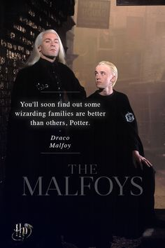 Like father, like son? In the end, the Malfoys' primary focus is protecting Draco.  | The families of Harry Potter