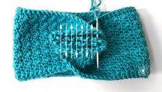 Crochet Headband Free, Crochet Headband Pattern, Knitted Headband, Free Crochet, Knit Crochet, Crochet Hats, Crochet Motifs, Basic Crochet Stitches, Crochet Basics
