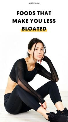 Foods that make you less bloated