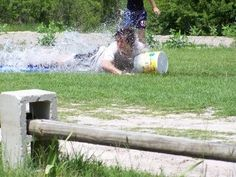 Home Made Obstacle Courses For Kids - Bing Images- cinder blocks & board for elevated balance beam?
