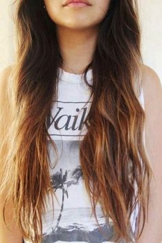 Ombre long hair styles that I love