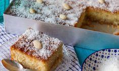 Coconut Recipes, Sweets Recipes, Greek Recipes, Raw Food Recipes, Greek Sweets, Greek Desserts, Bolos Low Carb, Bolo Fit, Processed Sugar