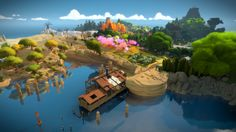Better than Myst? The man and the island: Wandering through Jonathan Blow's The Witness | Ars Technica