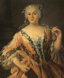 Princess Philippine Charlotte of Prussia (German: Philippine Charlotte von Preußen) (13 March 1716, Berlin – 17 February 1801, Brunswick) was a daughter of Frederick William I of Prussia and Sophia Dorothea of Hanover. She was mother-in-law to Princess Augusta. Through her mother, she was a granddaughter of George I of Great Britain, thus a niece of George II of Great Britain and a cousin of Frederick, Prince of Wales, Anne, Princess of Orange, and Queen Louise of Denmark and Norway.