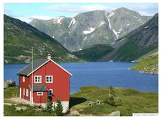 Sweden, my dear friend Lotta's summer house looks like this on the lake. Stayed there for a month...so beautiful.