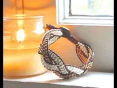 ▶ How to Make a Braided Ladder Bracelet - YouTube
