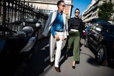 You didn't think we'd show you the best street style of Milan Fashion Week without also taking you to Paris, did you?