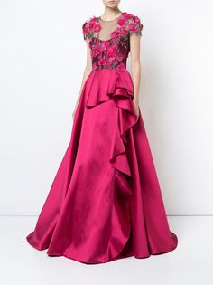 Check out Marchesa Notte with over 1 items in stock. Shop Marchesa Notte Mikado ball gown today with fast Australia delivery and free returns. Magenta Wedding, Striped Wedding, Beautiful Evening Gowns, Beautiful Prom Dresses, Ball Gown Dresses, Evening Dresses, Fuschia Dress, Fushia Pink, Marchesa Gowns